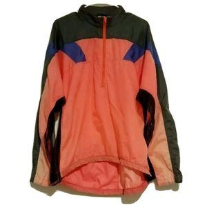 Vtg Mens Nike Echelon Windbreaker neon jacket XL